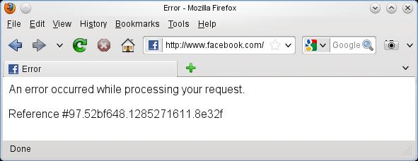 Facebook fail