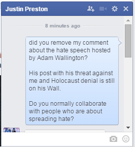 Justin Preston of Rise Against Bullying defends Adam Wallington bullying and hosting hate 1