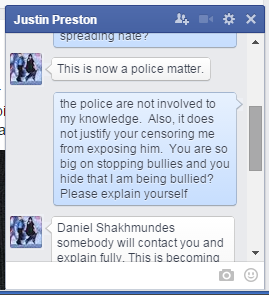 Justin Preston of Rise Against Bullying defends Adam Wallington bullying and hosting hate 2